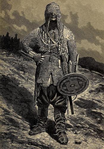 Чеченец из альбома Э. И. Эйхвальда. 1825—1826 гг.