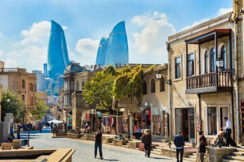 Baku-blend-Azerbaijan-skyscrapers-buildings